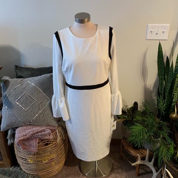 Calvin Klein Dresses & Skirts - NWT Cream Calvin Klein dress
